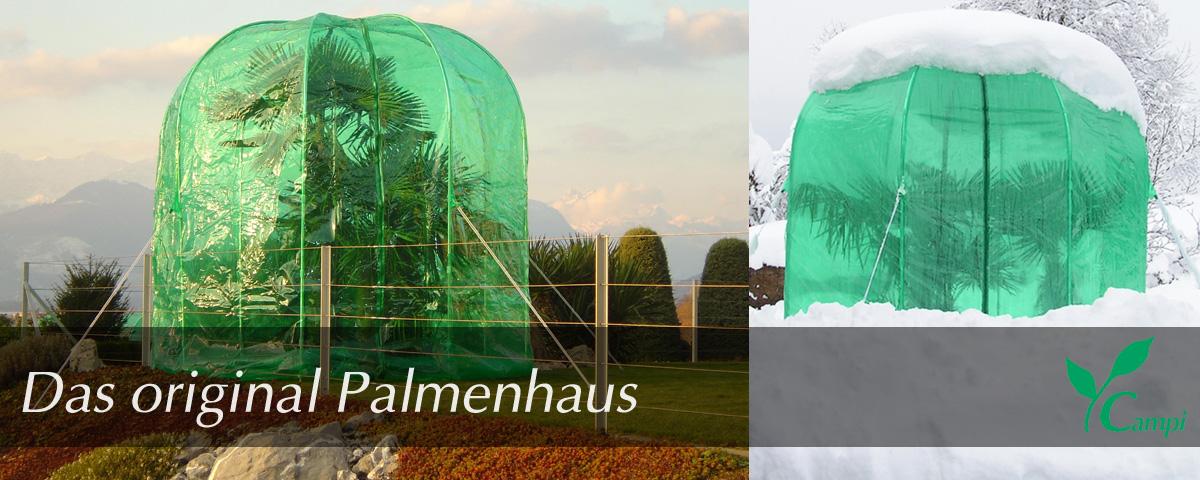 Palmenhaus & Winterschutz