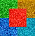 Rasenteppich Allwetterbelag dunkelblau