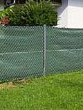Zaunblende 5 x 1.2 m grün #1