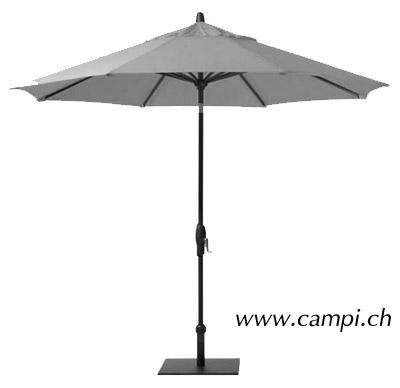 Sonnenschirm Alu Style Ø 300 cm grau #2