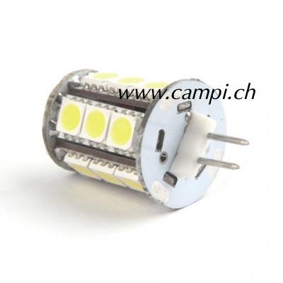 LED Leuchtmittel mit 15 SMD zu HI-POWER II 3W 12V G6.3 #2