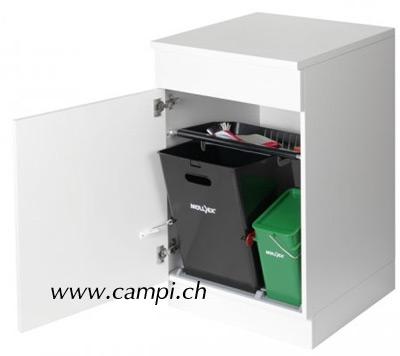 Abfallsystem Müllex mit Compost 35/5 Liter #2