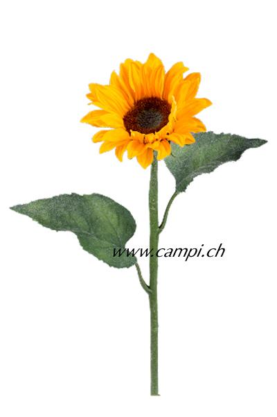 Sonnenblume mit Stiel H 67 cm #2