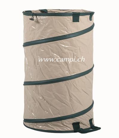 Gartensack mit Springrahmen 120 Liter Profi PU-Gewebe (250gr) #2