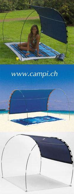Sonnenschutzzelt 197x134x120 cm blau #2