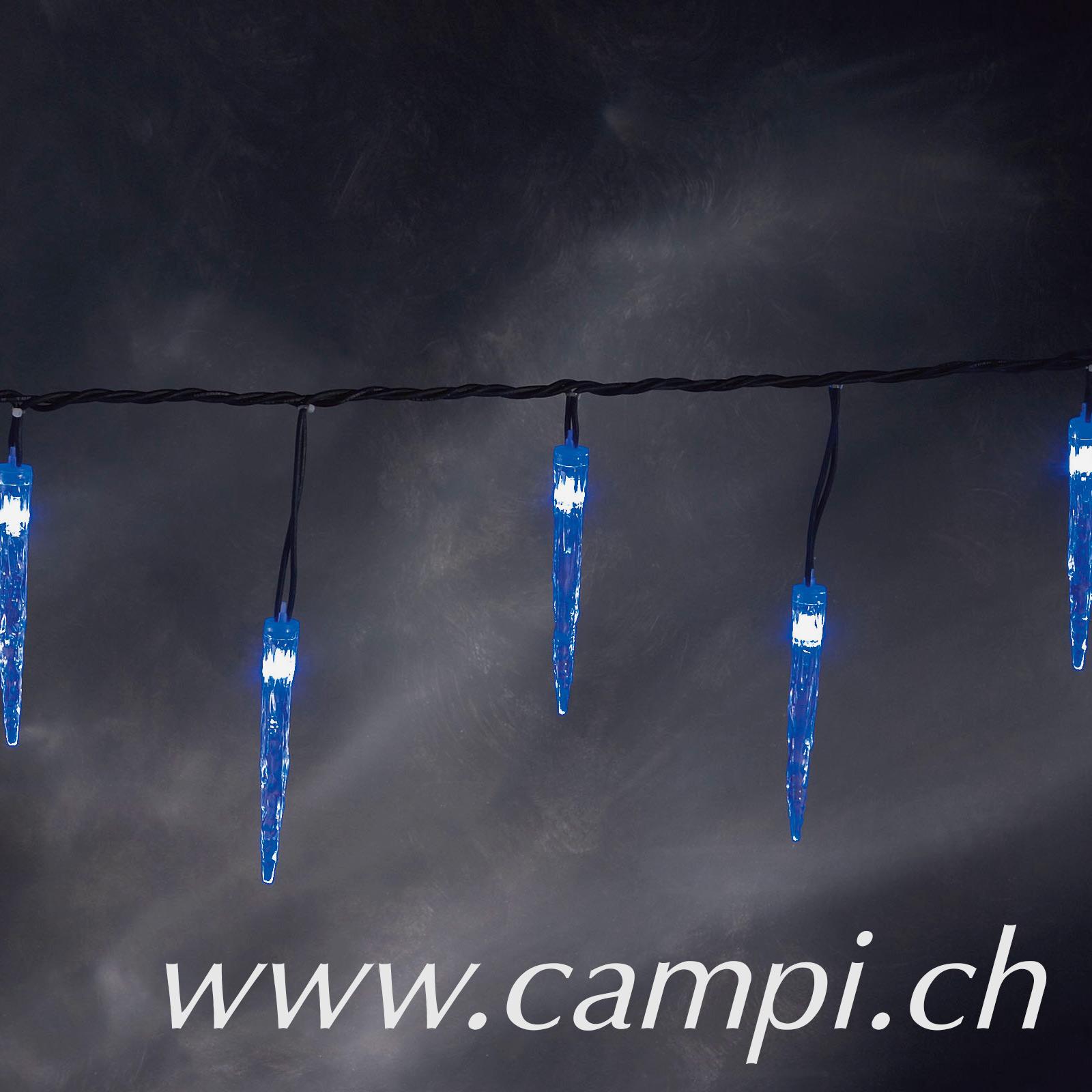 Eiszapfen-Lichterkette mit 90 LED-Zapfen 13.5 m outdoor #2
