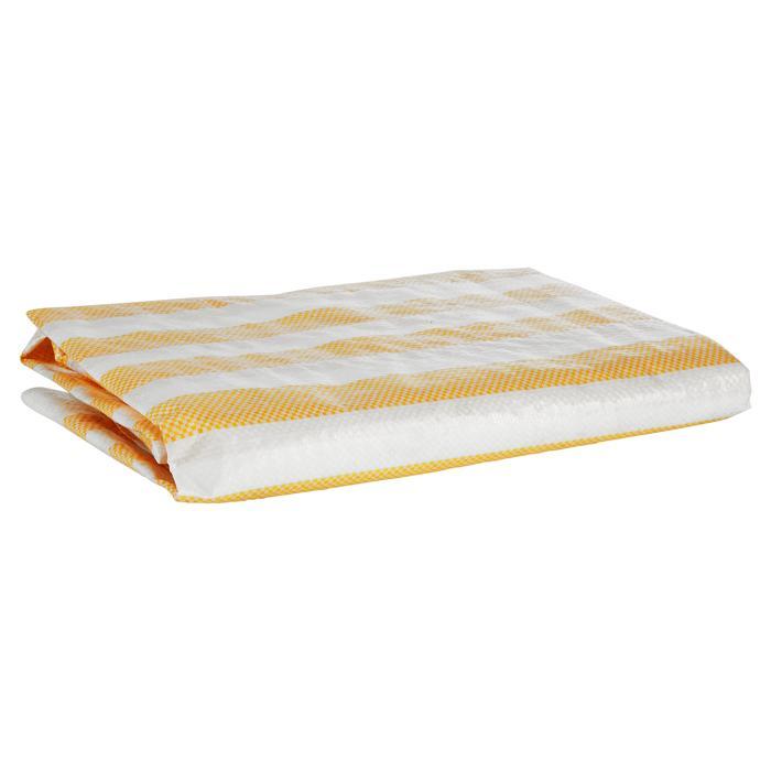 Balkonblende Ecoline 5x0.9m weiss-gelb #3