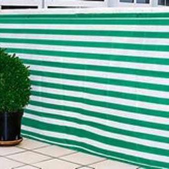 Balkonblende Ecoline 5x0.9m weiss-grün