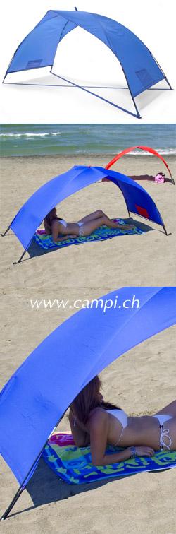 Sonnenschutzzelt portabel 230x100x105 cm blau #2