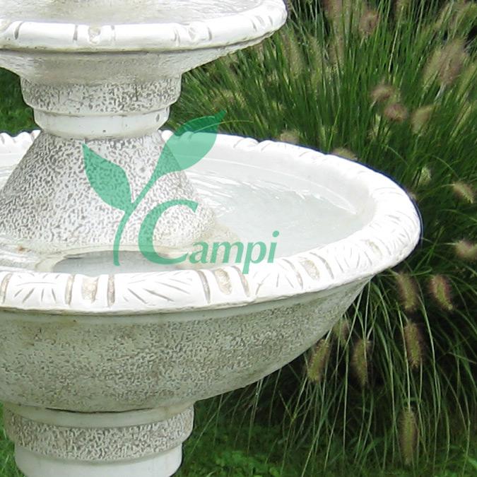 Weisszement Gartenbrunnen Rhodos D 80 x 140 cm #2