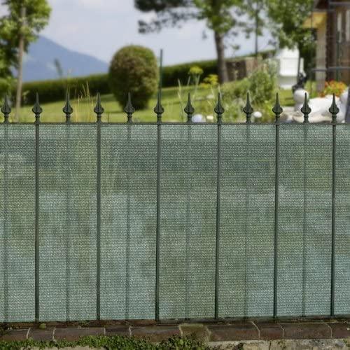 Sichtschutzblende 5 x 1.5 m grün