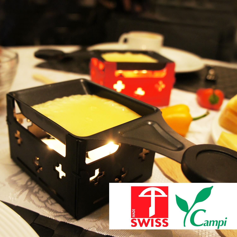 Swiss Raclette-Grill schwarz portabel #2