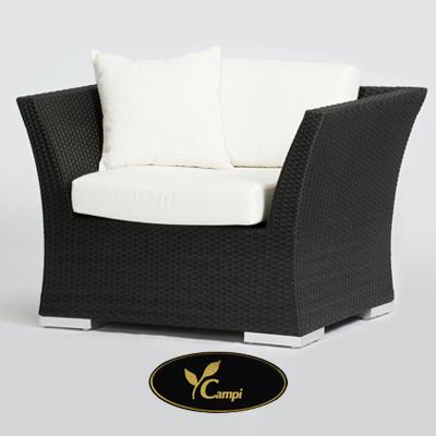 Resort Lounge Komfort Einzelsessel 102x69x80 cm