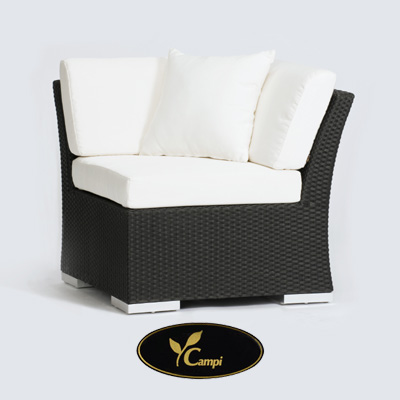 Resort Lounge Eckmodul 80x69x80 cm