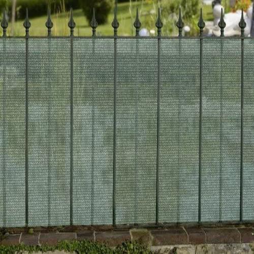 Sichtschutzblende 15 x 1.5 m grün
