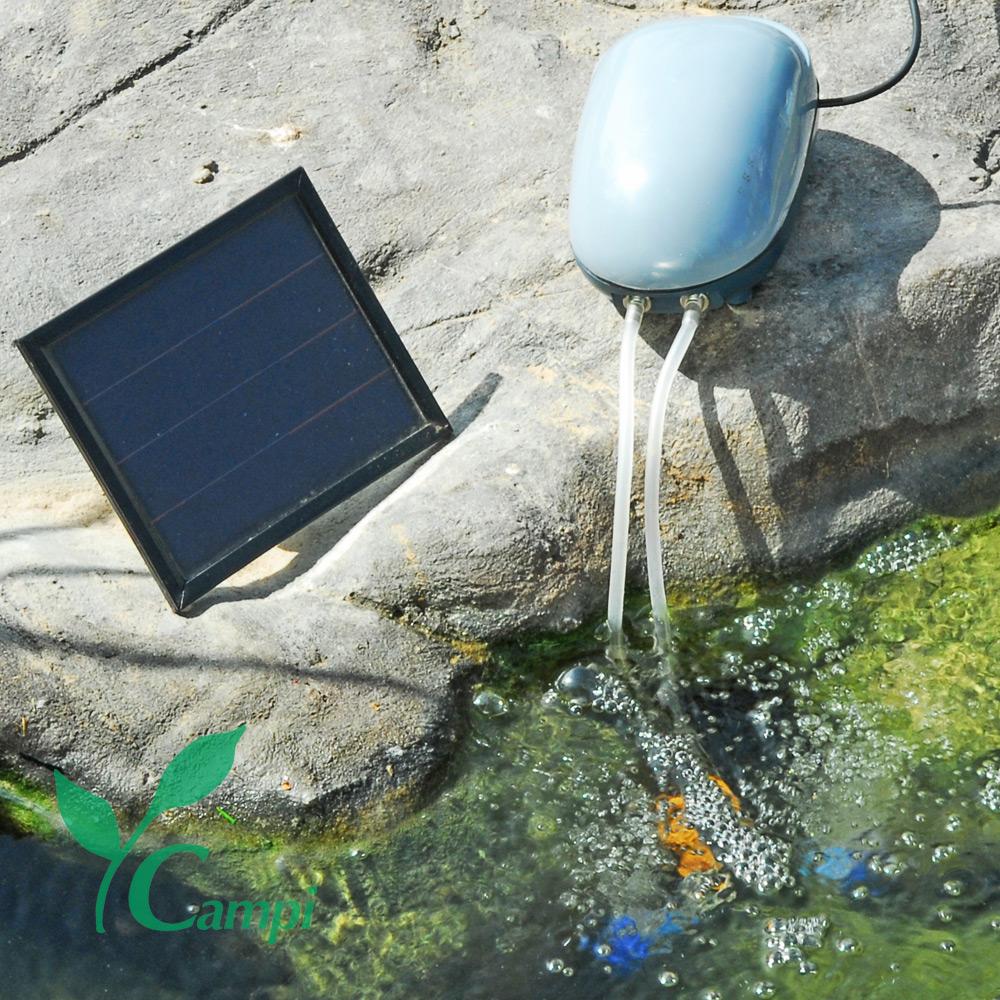 Solar-Teichbelüfter Basic 180 L/h (OXYGENATOR)
