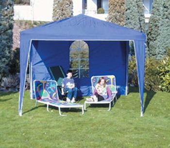 Gartenzelt Beauty blau 4 x 3m H 2.6m