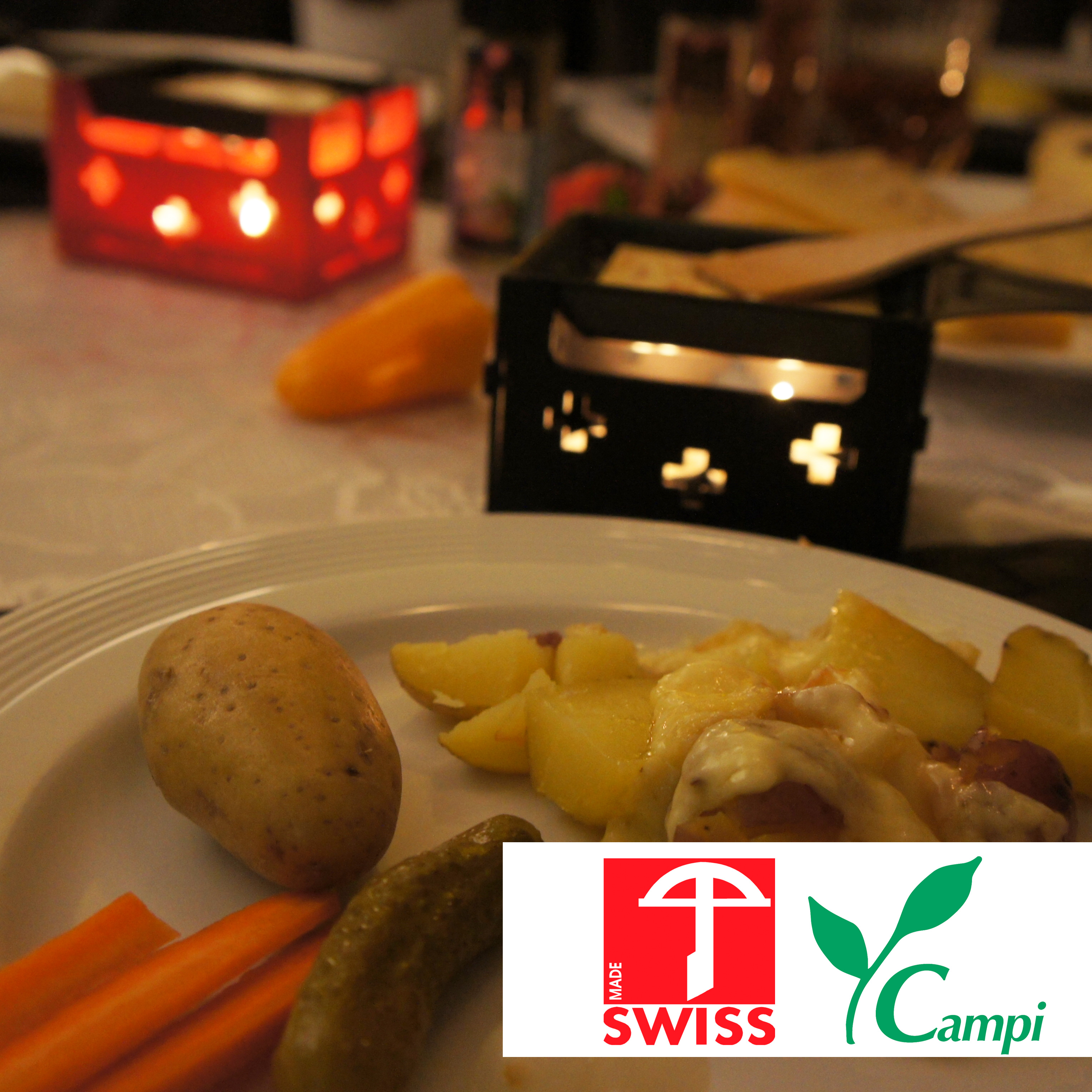 Swiss Raclette-Grill rot portabel #3