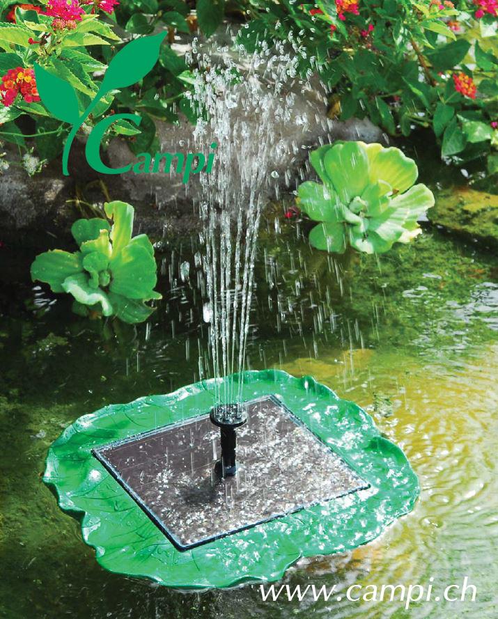 Solarspringbrunnen Seerose 210 L/h