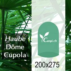 Palmenhaus Haube ohne Gestänge D=2 m H=2,75 m #1