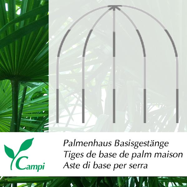 Palmenhaus-Basisgestänge 2x2,75 m