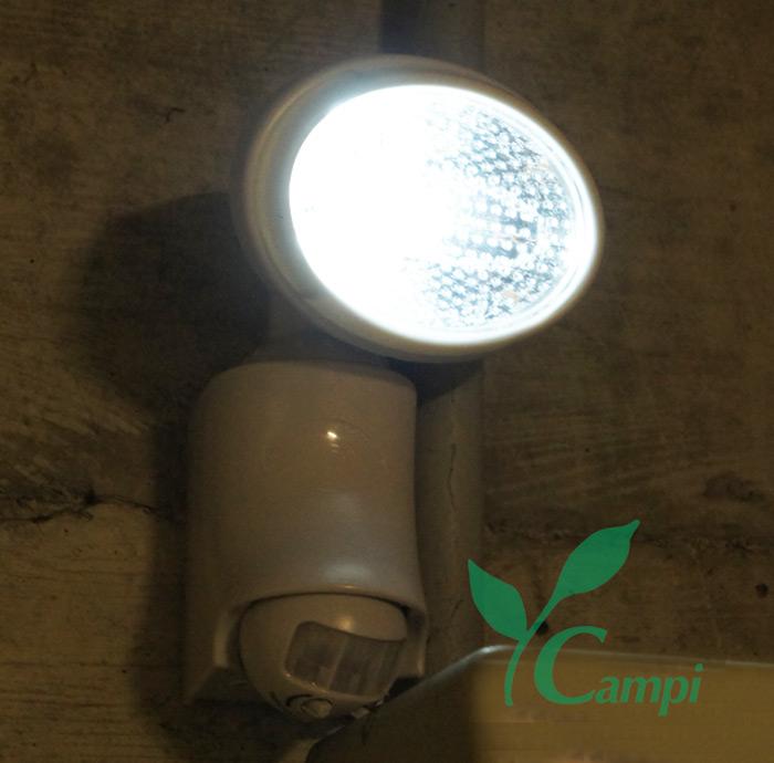 Solarstrahler mit 9 LED und Bewegungsmelder #2