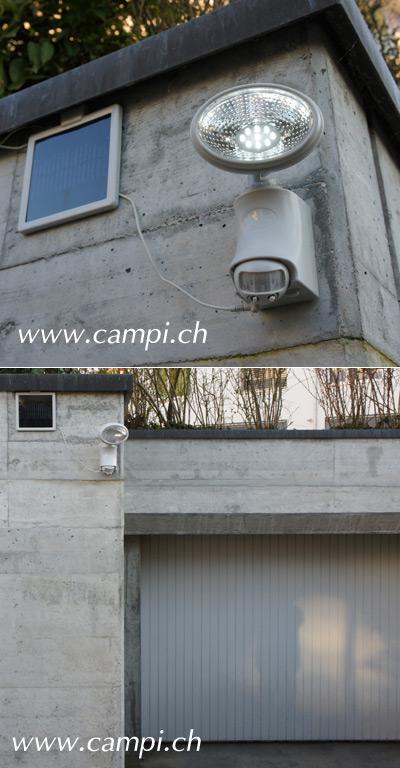 Solarstrahler mit 9 LED und Bewegungsmelder #4