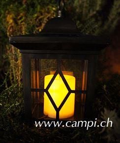 Solarlaterne Bjerke mit Kerzenflackern #4