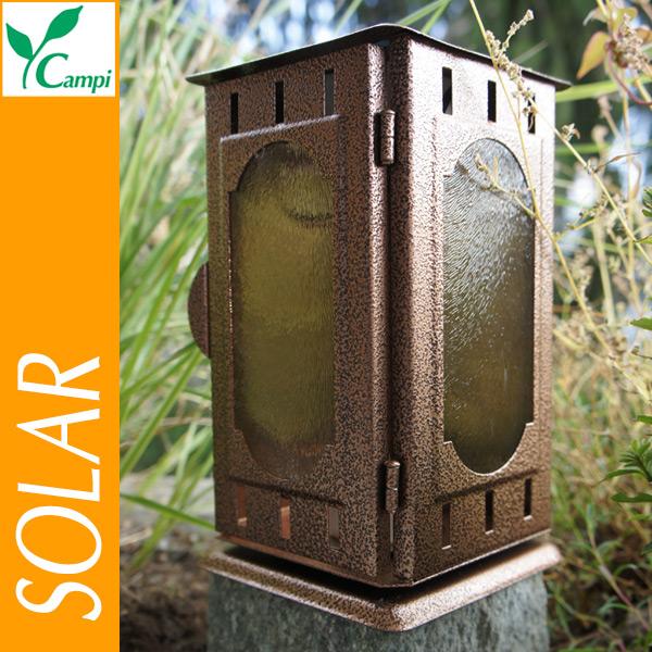Solar-Grablaterne Edelstahl im Kupferdesign