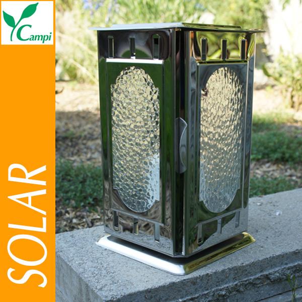 Solar-Grablaterne Edelstahl poliert