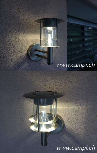 Solar-Wandlampe Sissi T 19 x H 25 cm 10 Lumen #3