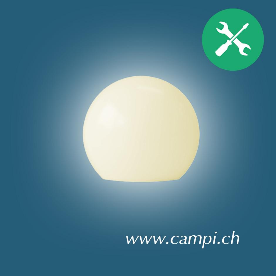 Moonlight Leuchtkugel 75 cm Aufschraubsockel