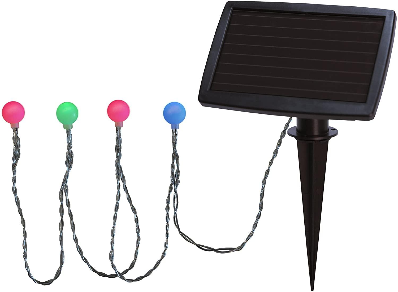 Solar-Lichterkette Color mit 20 Lichtkugeln #2
