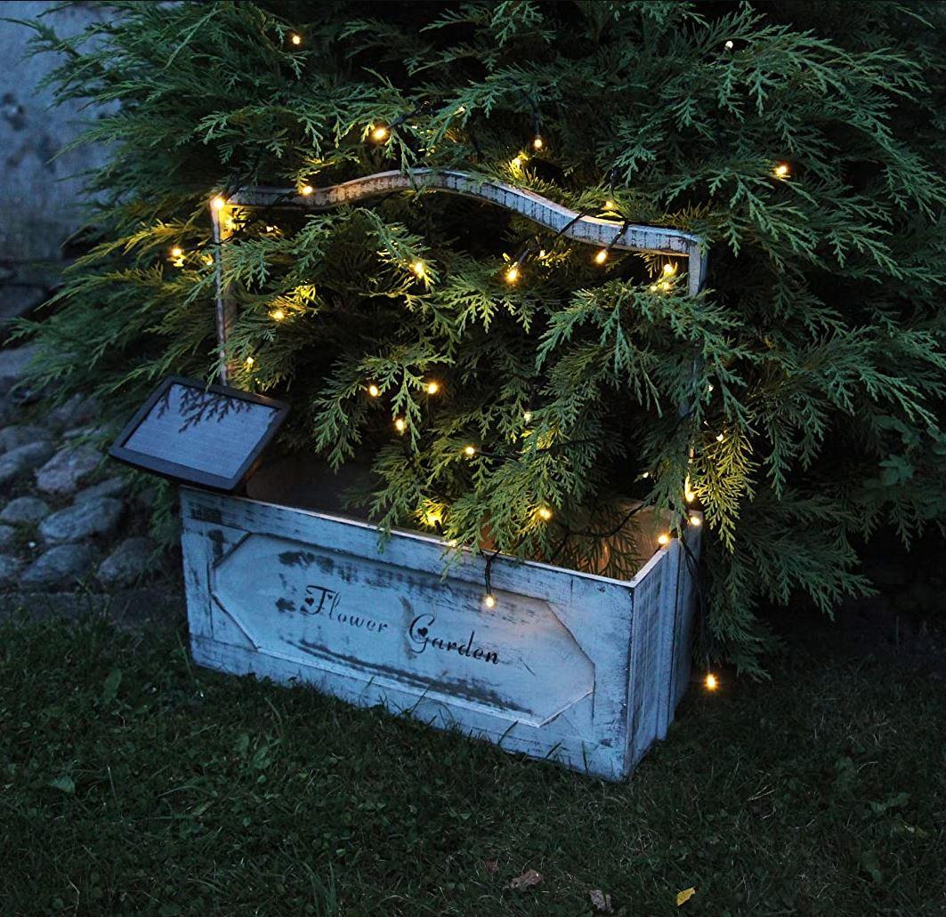 Solar-Lichterkette x50 LED warmweiss #2