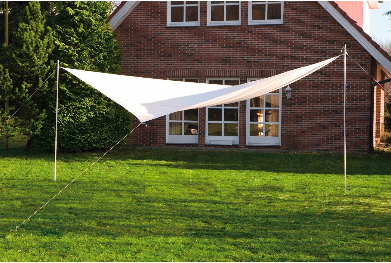 Sonnensegel 400 cm quadratisch - weiss #3