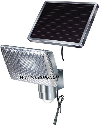 Solarfluter Profi ALU mit IR-Bewegungsmelder