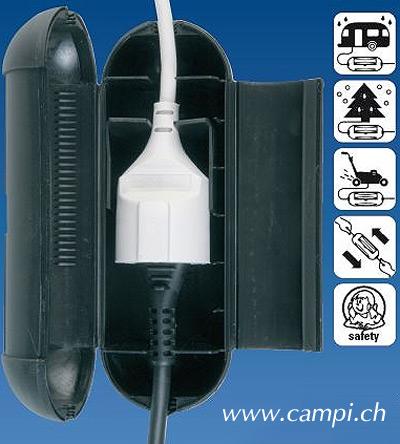 Electrosafe Steckerverbinder outdoor 20x8cm