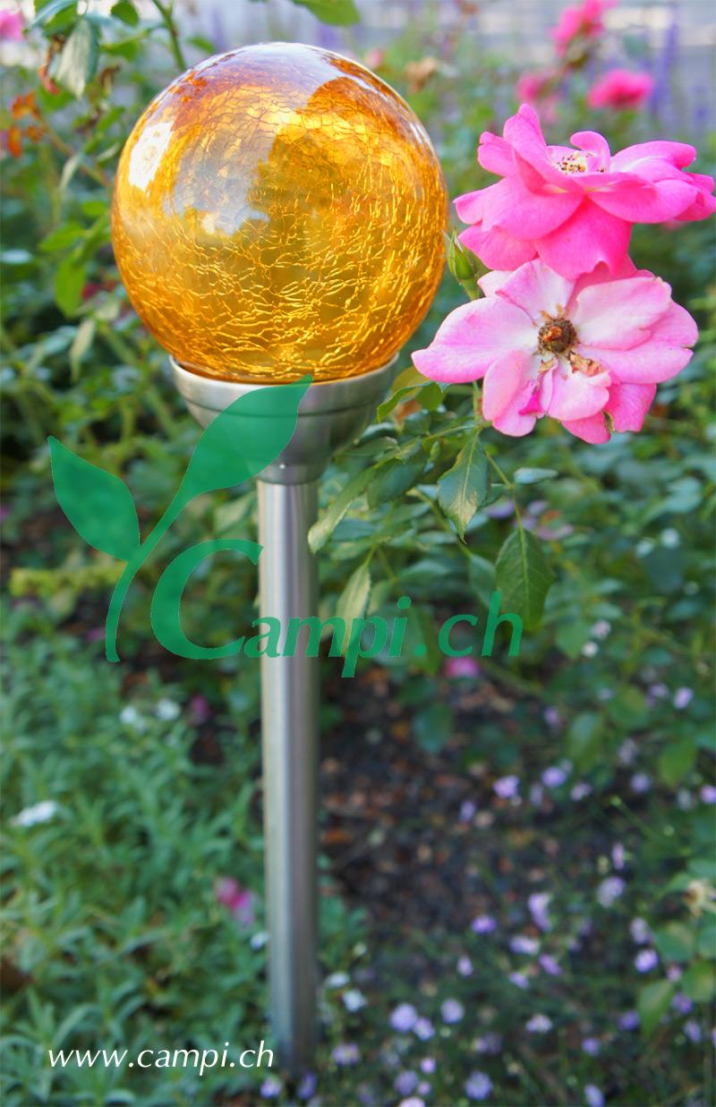 Solarlampe Crush amber D 12 x 45 cm #3