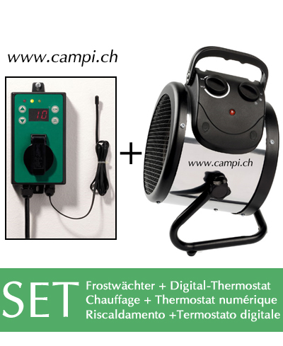 Frostwächter PL + Digital Thermostat Profi 2 SET