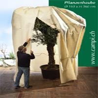 Pflanzenhaube Winterschutz Ø 160 x H360 cm