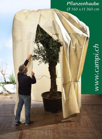 Pflanzenhaube Winterschutz Ø 160 x H360 cm #2