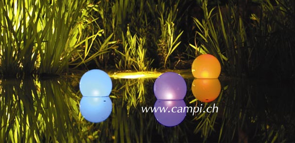 Solarleuchtkugel schwimmfähig kabellos 20 cm multicolor #2