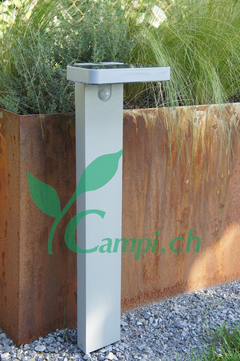 Solargartenlampe mit Bewegungsmelder 12x18 H60 cm #2