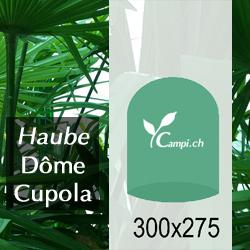 Palmenhaus-Haube ohne Gestänge D=3 m H=2,75 m (FV) #1