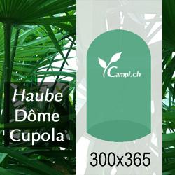 Palmenhaus-Haube ohne Gestänge D=3 m H=3,65 m (FV) #1