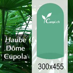 Palmenhaus-Haube ohne Gestänge D=3 m H=4,55 m (FV) #1