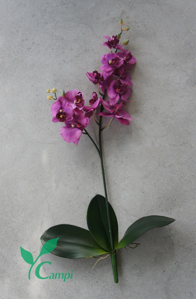 Künstliche Orchidee lila Ø30 x H65 cm