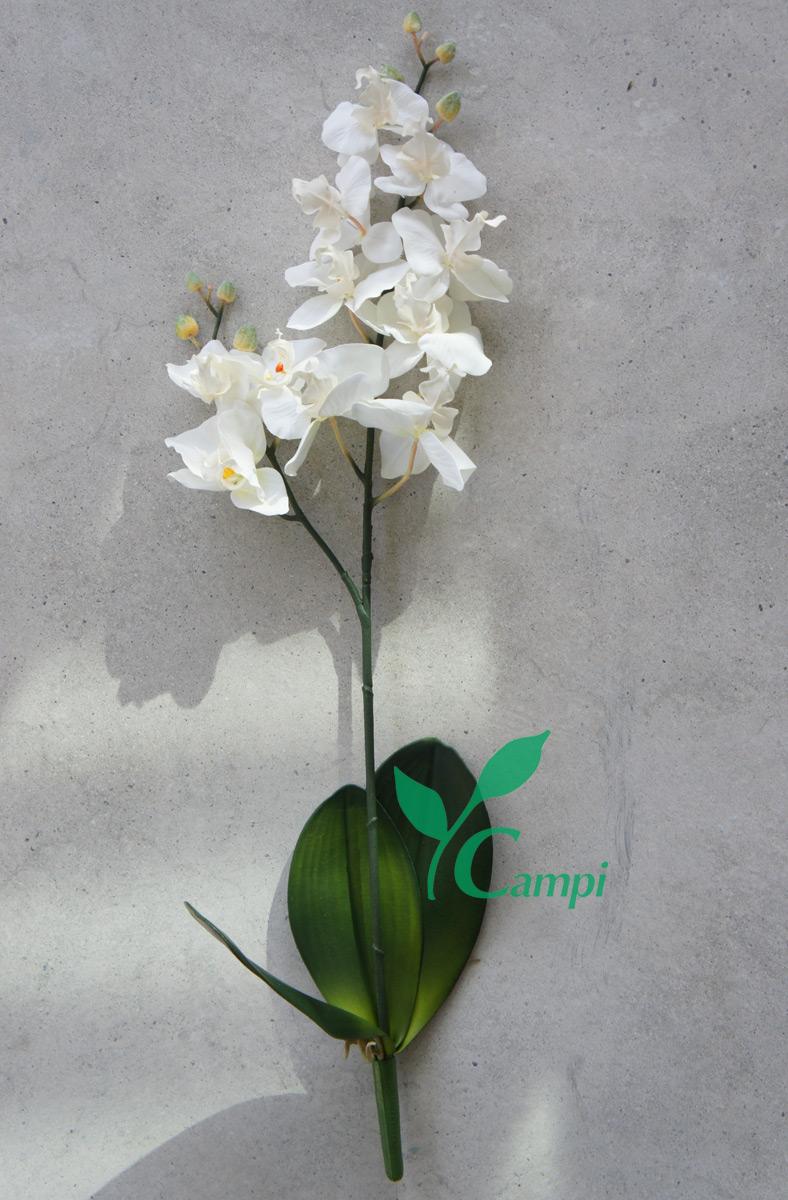 Künstliche Orchidee weiss Ø30 x H65 cm