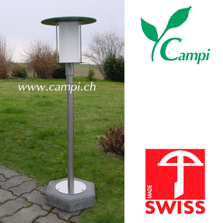 Solarlampe HI-POWER I LED Dauerlicht H=84cm