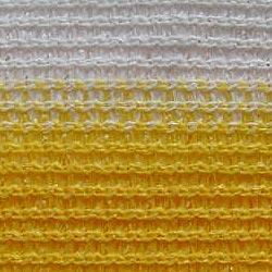 Balkonblende Profiline 5x0.9m weiss-gelb #3